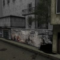 [Silent Hill 2] Wall by shprops4xnalara
