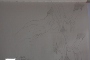 Give me your hand (Gray and Juvia) - Fairy Tail by carolinamgfidalgo