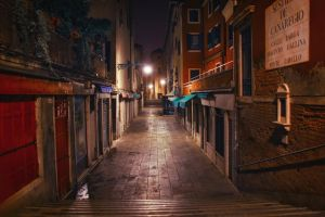 Walking in Venice - 3 by Tori-Tolkacheva