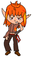 Adoptable Fire Elf boy - Adopted - by iedasb