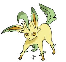 Leafeon by Jas656