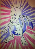 Classic Mewtwo by RedDeadRAVAGE