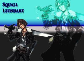 Squall Leonhart by FFgeek97116