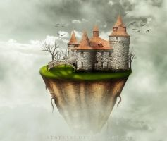 Castle on the sky by Atabeyli