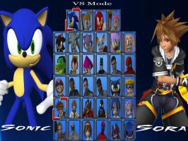 Shadow759 Fighting Game Select Your Fighter by shadow759