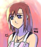 Teen Kairi KH2 by gndagnor