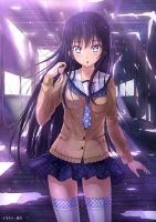 School Girl by PenName-Kazeno