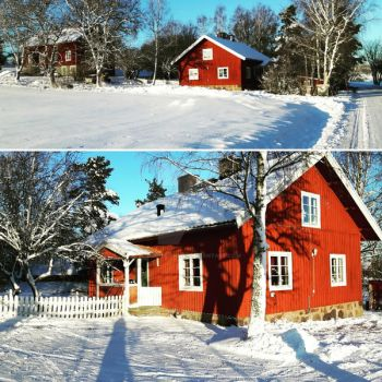 Our house in a winter wonderland by Dacha-thwei