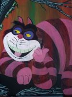 Cheshire Cat by SillySpook