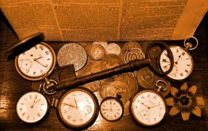 Time's Curiosities with Key by Forestina-Fotos