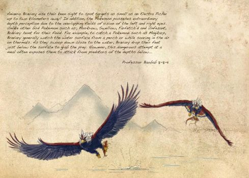 Field Guide: Pg. 32 Braviary by CasteelArt