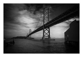 Bay Bridge by JimP4nsen