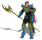 Armored Dragoon Rachelle by Wing-Saber