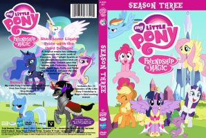 My Little Pony Friendship is Magic Season 3 DVD by AquaticNeon