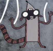 Screaming Rigby by lifeinacemetery