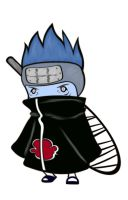 Chibi Kisame by doll-fin-chick