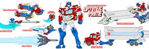 Autobot Optimus Prime A by Tyrranux