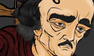 test colours edgar allan poe 3 by MsGothje