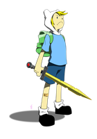 Finn the Human by mithol
