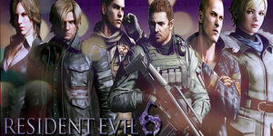 RE6 All Characters Version 2 by JillValentinexBSAA