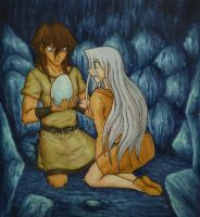 In The Cave of The Blue Eyes White Dragons by ARCatSK