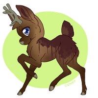 Custom for TWDadoptables by Pina-Puppy