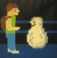 A Boy and His Blob by paintmeaperfectworld