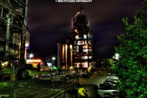 Steel and Lights III HDR by xMAXIx