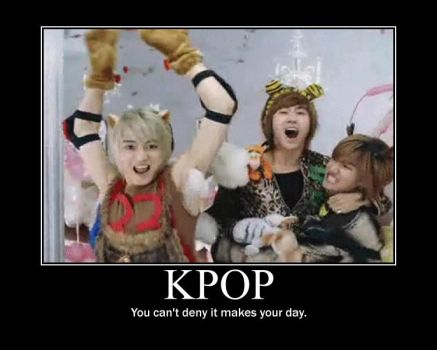 Kpop motivational poster by LadyxBloodyxInk
