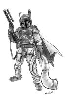 Boba Fett by FREAKCASTLE