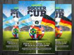 A Premium Soccer Cup Flyer template by platinumflyers