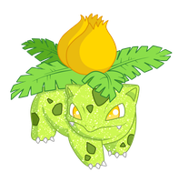 Shiny Ivysaur - #002 by RandomDrawerOfArt