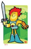 Lion O by Montygog