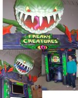 Freaky Creatures kiosk 5 by darkwax