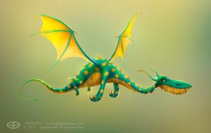Dragon by imperioli