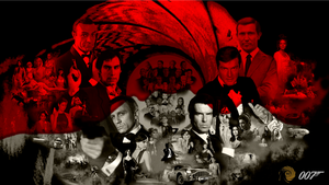 Bond 50 Anniversary collage by the-hero-of-time28