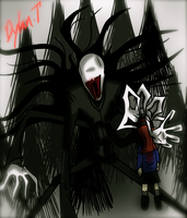 Slenderman by xxxwingxxx
