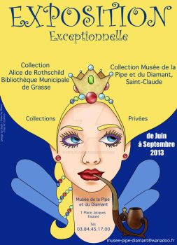 Exposition Exceptionnelle Poster Art by SophlyLaughing