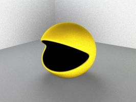 Pac-Man by cptangry