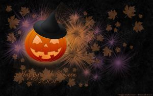 Happy Halloween Wallpaper by Fiale