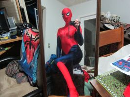 80% spidergirl by animeloving-Okami