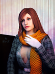 RE: Claire Redfield - Portrait of the lady by Sia-G