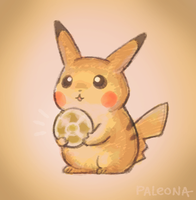 for you, pikachu by Paleona
