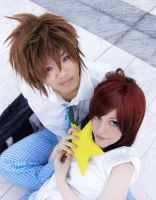 KINGDOM HEARTS II Kairi x Sora by Justin-92