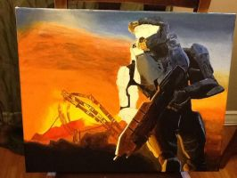Master Chief: In Progress 3 by SPARTAN-WOLF