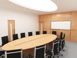 conference room1 by gufranshaikh