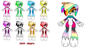 FREE Sloth adopts! by GhostyDevin