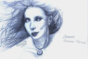 Simone Simons by TigaLioness