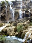waterfall sichuan china by Timdockrill