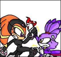 request: shade vs Blaze. by Misfortune09